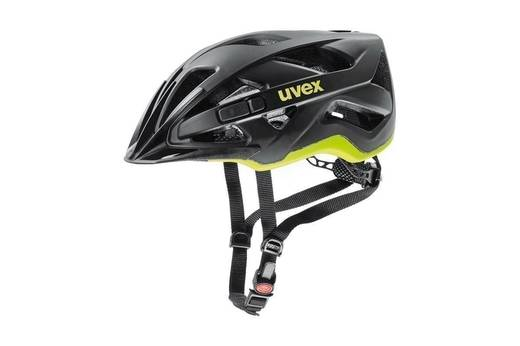 20 UVEX HELMA ACTIVE CC, BLACK-YELLOW MAT